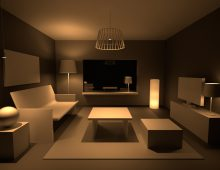 Room lighting concept